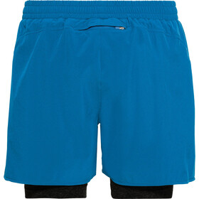 Odlo Millennium Linencool PRO Pantaloncini 2in1 Uomo, blue aster/black